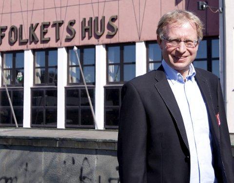 OPTIMIST: Til tross for enorme inntektstap kan Bjørnar Mikkelborg smile når regnskapet for 2020 er gjort opp.