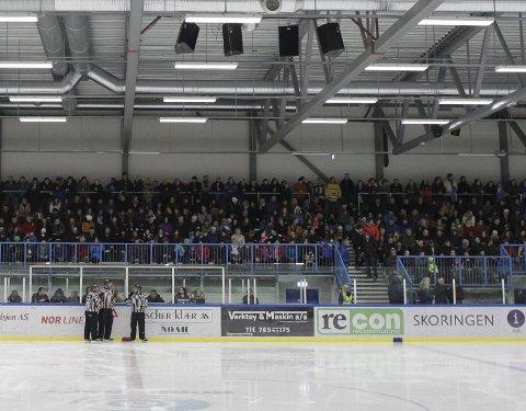 TILBAKE: Espen Viklem Eidum i Narvik hockey håper at publikum vender tilbake til Nordkraft arena igjen.