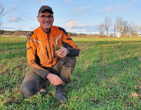 SIER NEI: MDGs landbrukstopp Harald Moskvil mener Horten kommune må si nei til all omregulering fra jordbruk til næringstomter.
