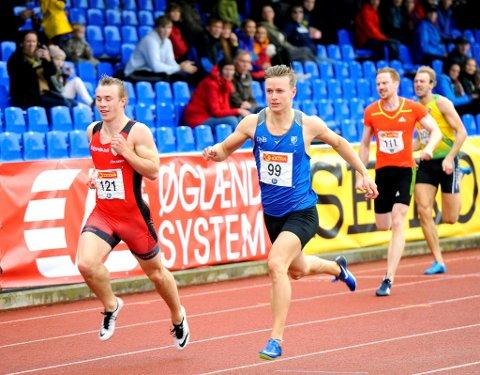 Håkon Morken er klar for finale på 200-meter i NM.
