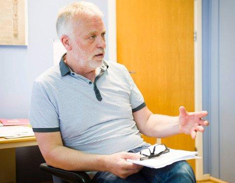 FLERE TIMER PÅ SKOLEN: Rektor ved nye Kongeveien skole, Jostein Stø, ønsker å utvide skoletiden. - Vi vil gi et likeverdig tilbud til alle elevene.