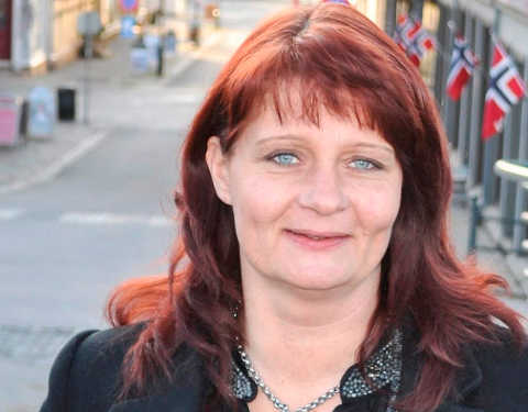 GJENVALGT: Kirsti Brække Myrli ble i helga gjenvalgt som styrmedlem i Østfold Ap.