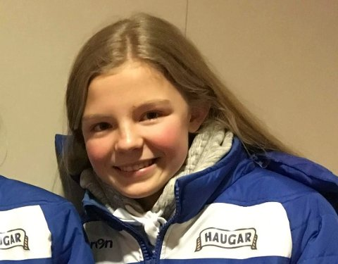 LOVENDE: Malin Røyset Johannessen fra Haugar.