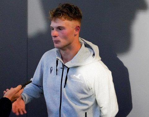 KJEMPER OM PLASSEN: Ulrik Fredriksen håper å være på laget når FKH serieåpner mot Sarpsborg søndag.