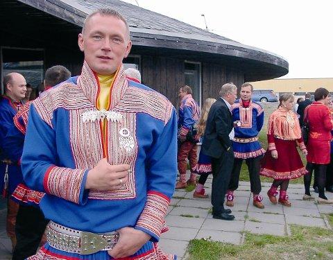 PÅ TINGET: Hans Ole Eira fra Senterpartiet og kjent leder ireinbeitedistrikt 26 Lakkonjarga.
