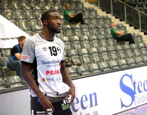 KOMMER IKKE TIL NYE LOEN: Luc Abalo er i Paris mens lagkameratene i Elverum spiller på Nærbø.