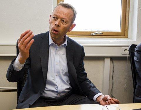 SNART OPPSTART: Peter Steiness Larsen håper så snart som mulig på oppstart av Sydvaranger.