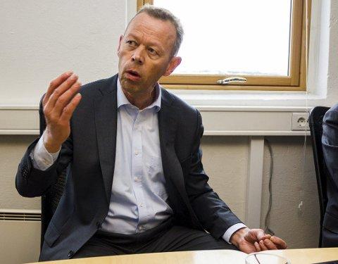 IKKE VALG: Styreleder ved Sydvaranger, Peter Steiness Larsen, sier at det ikke var annet valg enn å sende ut permitteringsvarsel som en følge av koronaviruset.