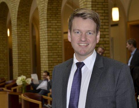 På topp: Vestfold KrF har satt den tidligere kragerømannen Anders Tyvand på topplassen til stortingsvalget i 2017.