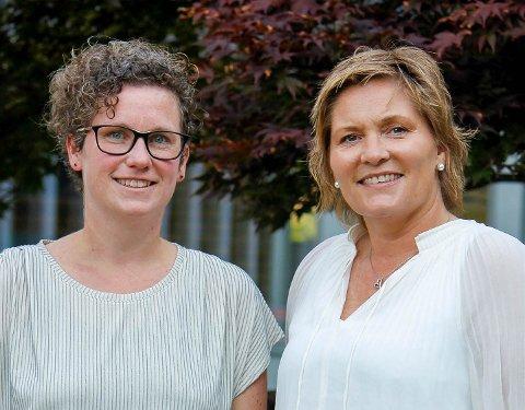 MOBBEOMBOD: Mari-Kristine Morberg (t.v.) og Aina Drage.
