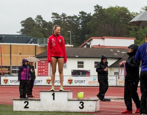 JUNIOR-EM: Elin Serine Vik Johannesen fra Lyngdal skal delta i tre distanser i junior-EM.