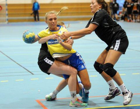 TUNGT: Ricke Bøttger scoret fem ganger mot OSI, men det ble for tynt mot OSI og BSK tapte 23-31.