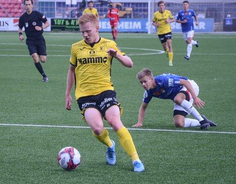HATTRICK: Kristoffer Nessø scoret tre ganger mot Øygarden.