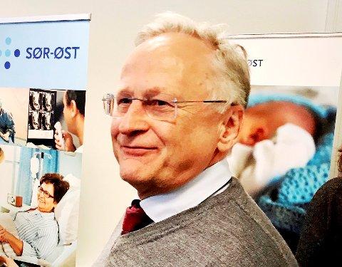 Styreleder i helse sør-øst, Svein Gjedrem
