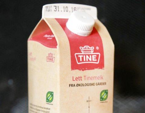 NYE TIDER: Denne uka endres melkekartongene fra Tine. Datomerkingen slik vi kjenner den blir endret til «Best før, men ikke dårlig etter».
