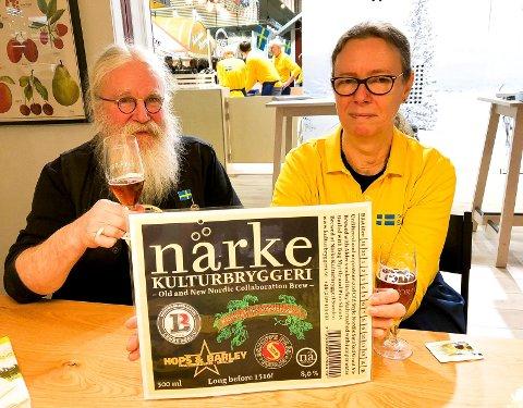 BLANT SVERIGES FREMSTE: Närke Kulturbryggeri med HG Wiktorsson og Berith Karlsson i spissen. (Foto: Bjørn-Frode Løvlund)