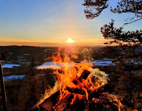 BRENNENDE: Mange har en brennende interesse for å løfte Finnkogen ytterligere.