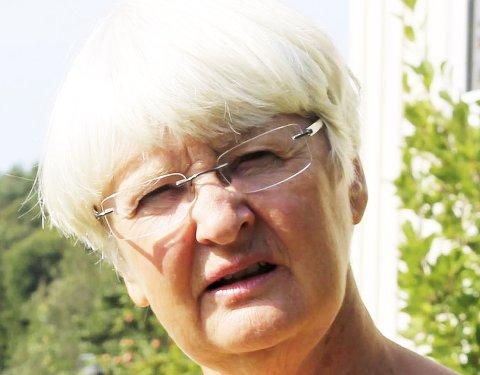 Enig: Randi Hagen Fjellberg i MDG bruker selv bare buss og er helt enig i at busstilbudet må bli bedre. Hun er også opptatt av mangel på korrespondering ulike transportmidler i mellom.