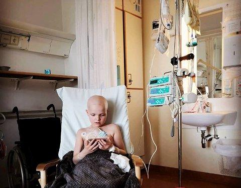 TØFF BEHANDLING: Lilje var gjennom fire cellegiftbehandlinger. Hun mistet krefter og ble dårlig.