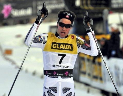 God karriere: Ole Martin Storlien var eliteløper i kombinert i ti år. For to år siden valgte han å legge opp. Nå er han i OL for Madshus.