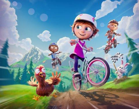 ELLEVILLE ELFRID: En varm og morsom familiefilm full av fart og eventyr, der tre barn på sykkeltur oppdager hvor magisk vennskap kan være.