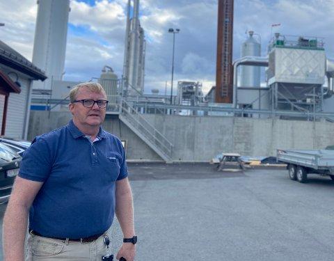 BYGGER FOR FREMTIDEN: Senior Controller i VEAS, Frantz Jørgensen forteller at selskapet har store ambisjoner og mange prosjekter på gang.