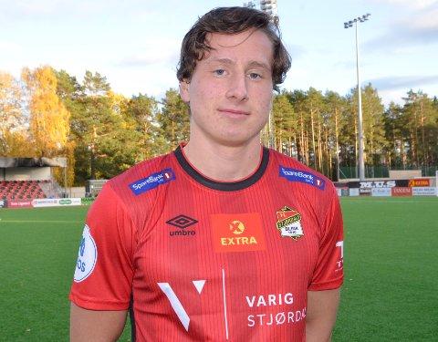 KAN VELGE: Steinkjer-gutten Håvard Lorentsen har flere tilbud å velge i når han skal ta stilling til hvor han skal spille fotball neste år.
