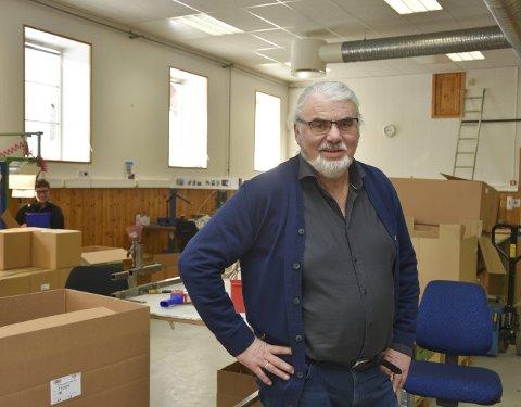 Sjefen:  Gunnar Helgerud synes alle burde få oppleve gleden av å ha et arbeid å gå til.