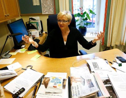 – Ingen har meldt seg så vidt jeg vet, sa Liv Signe Navarsete til NRK etter at fristen gikk ut midnatt. Foto: Lise Åserud / NTB scanpix
