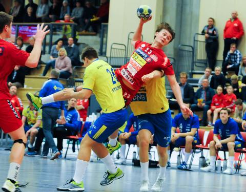 NØTTERØY-GUTT Jacob Weidemann har gått gradene i Teie- og Nøtterøy-håndballen før han dro til Bergen i fjor.