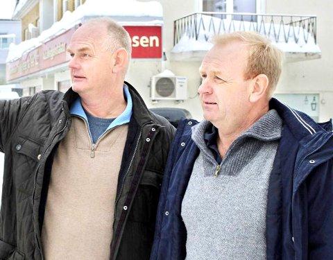 STYRKET: Petter (t.v.) og Morten Davidsen kan notere et betydelig styrket resultat i 2020.