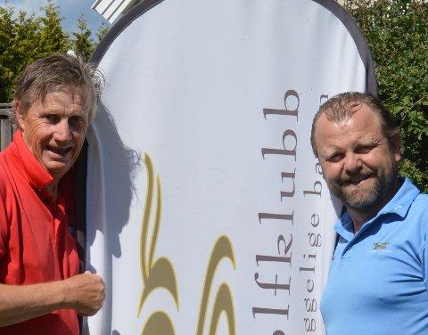 Espen Olafsen og Jens Gilboe arrangerer åpent Nordisk seniormesterskap de kommende dagene.
