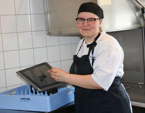 MAGISK. Det er magisk å kunne stå opp om morgenen og gå på jobb, smiler Sofie Monsen Brattbakk.