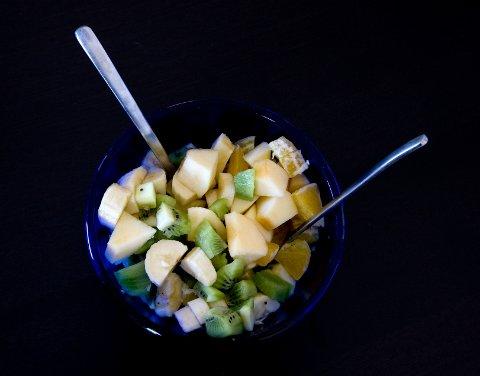 Fruktsalat: En av dessertfavorittene til jul! Foto: Gorm Kallestad / NTB