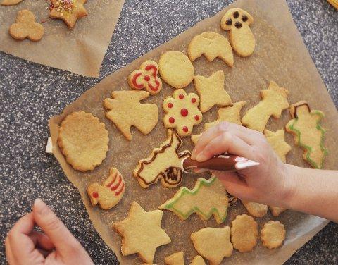 SPISELIGE GAVER: Julekaker og annen hjemmelaget mat er gaver som viser at du har lagt ned både arbeid og omtanke i å lage.