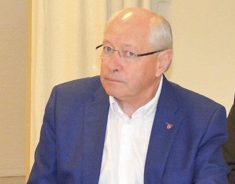 NEI: Stortingsrepresentant Martin Kolberg levner en framtid for Nedre Eiker som egen kommune intet håp.