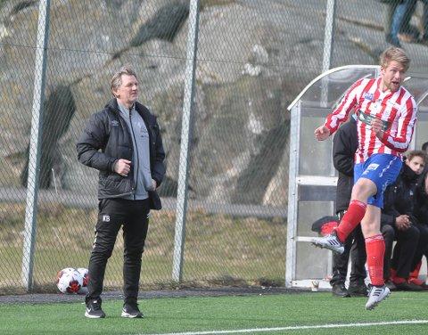 KAN VÆRE TAPT: Kent Bergersen må trolig klare seg uten Filip Westgaard i årets sesong.