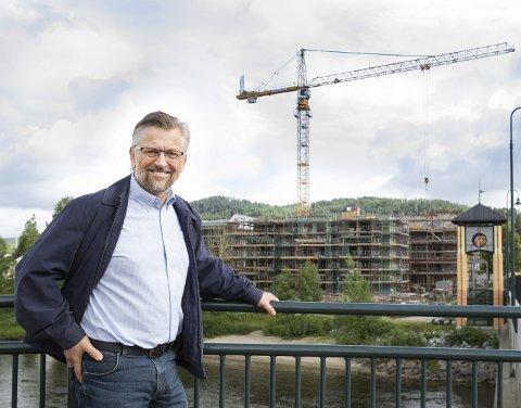 VIL VOKSE: Med raskere adkomst til Oslo tror Sjur          Strand at Kongsvinger snart kan begynne å konkurrere med Asker.