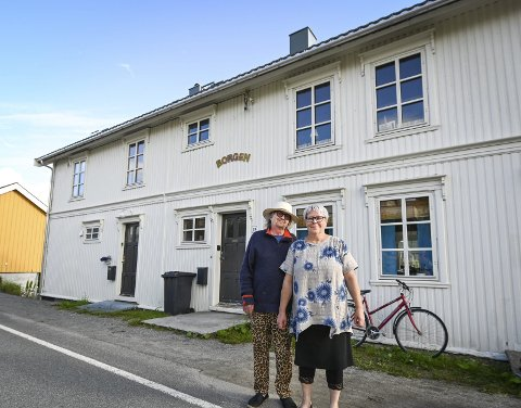 Borgen: Hjemmet til Wivian Mediå Horseng og Odd Johan Horseng på Hemnesberget er full av historie.