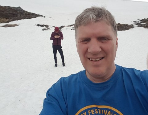 HJEM TIL PÅSKE: Geir Adelsten Iversen skal hjem til Hasvik.