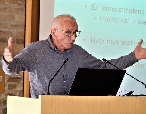 """- Skjalg Fjellheim er på feil side og må ty til «fake news», mener Arne Pedersen (bildet) og Bjørn Willumsen. De mener deler av nordlysredaktørens referat av et Ap-møte var """"hinsides realitetene""""."""