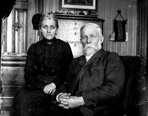 Berthel Christian Olsen og kona Antonie.