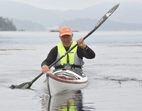 Tidligere olympisk mester i kajakk, Egil Søby mener Kragerø er et eldorado for padlere.