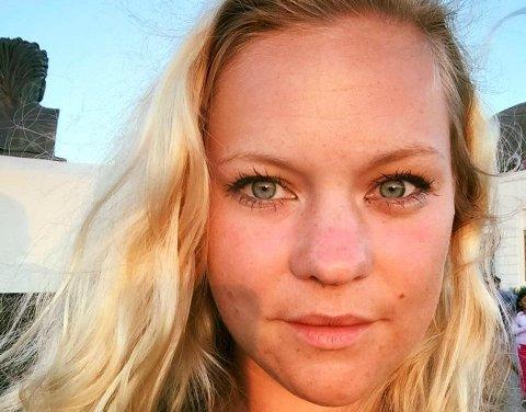 UNGT LEDERTALENT: Ida Anna Haugen (28) fra Kongsberg er frontredaktør for NRK.no.
