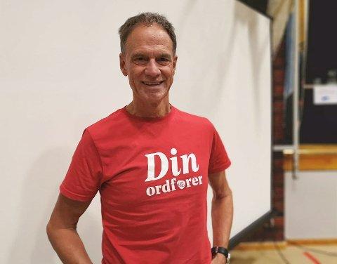 NEI TIL SAMARBEID: Ordførerkandidat for Arbeiderpartiet, Jan Gaute Bjerke, sier blankt nei til et samarbeid med Senterpartiet.