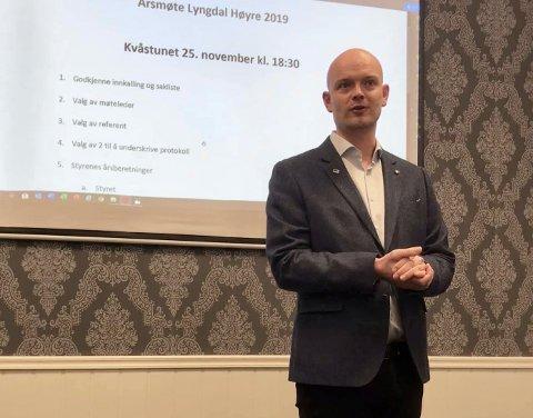 GJENVALG: Jan Lindland takket ja til å være leder i ett år til.