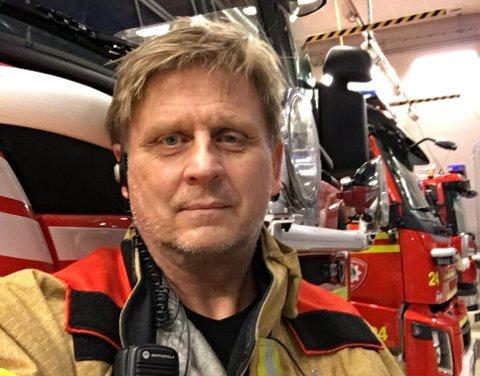Tidligere fagansvarlig for farlig stoff hos Oslo Brann- og Redningsetat (OBRE), Morten Engmann.