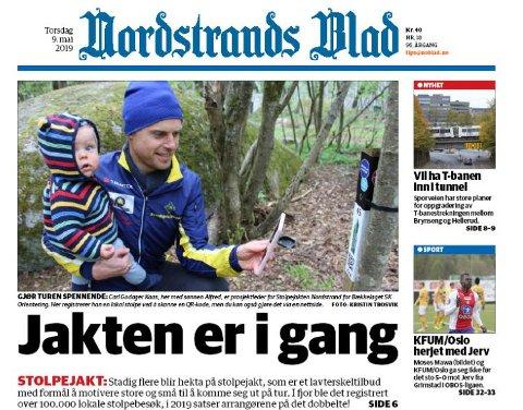 Nordstrands Blad 9. mai 2019
