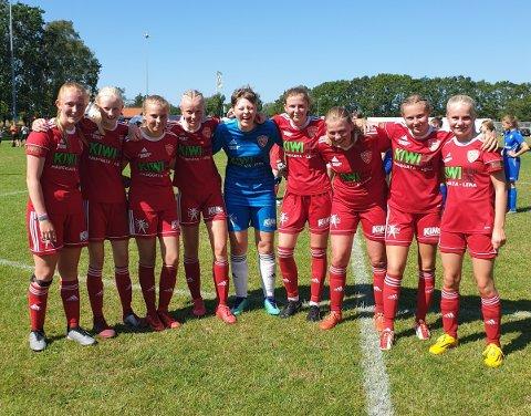 FK Totens J16 har imponert i Dana Cup og spiller semifinale i A-sluttspillet torsdag.