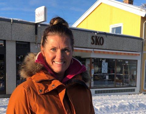 PRØVER IGJEN: To og et halvt år siden sist Trude Fuglesang gjorde et forsøk på å selge butikken, gjør hun et nytt forsøk.
